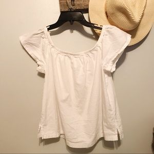 Levi's Whitw Off The Shoulder Top